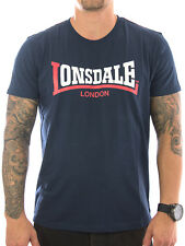 Lonsdale T-Shirt Two Tone 113170 navy