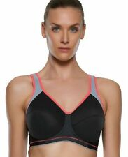 Freya Active High Impact Sports Bra AA4002 Black Samba FF to H