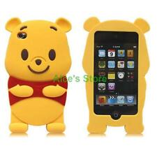 Cute Winnie the Pooh Bear Soft 3D Silicone Case Cover For iPhone 5S 6/6S 6 Plus