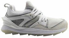 Puma Blaze Swift Tech Mens Trainers White Leather Lace Up 357824 02 D39