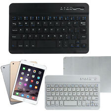 Mini Ultra Alluminio Wireless Bluetooth Keyboard Per IOS Android Windows PC