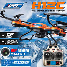 JJRC H8D/H8C/H25C/H29G 6-Axis Gyro RC Quadcopter Drone HD Camera+Monitor+Battery