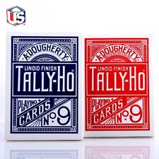 Jeu de cartes Tally-Ho circle Poker 9 Tour de Magie