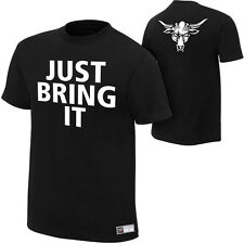 WWE The Rock Brahma Bull Authentic T-Shirt S M L XL XXL 3XL4XL NEU Just Bring It