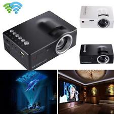 1080P HD LED Casa Multimedia Theater Cine USB TV VGA SD HDMI Proyector LOTE
