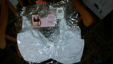 NEW IN PACKAGE LA BELLE FEMME UNDERWIRE SUPPORT BRA BLACK OR WHITE 40C 40DD 36D