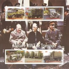 2015 World War II Military Transport - 6 Stamp Sheet - 3H-988