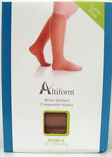 Altiform Compression Hosiery,pair,Class2,Below Knee,closed toe,beige CHOOSE SIZE