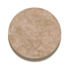 ROUND PROTECTION FELT PADS Wood Laminate Floor Furniture Beige 25mm