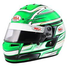 Bell KC7-CMR Venom Green Snell CMR-2007 Helmet/Lid - Youths/Childs Kart/Karting