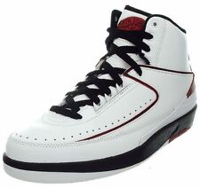 Nike Jordan 2 men's basketball boots white/black/red casual shoes sneakers NEW