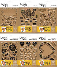 Leonie Pujol Photopolymer Stamp Collection - Co-ordinate with Entwined Dies