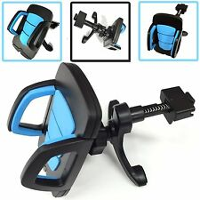 UNIVERSAL BLUE CAR MOUNT HEAVY DUTY 360°  STAND HOLDER FOR 2016 SAMSUNG PHONES