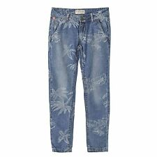 CHIPIE Jeans loose fit Palmen stone washed 98 104 110 122 128 134 140 146 152
