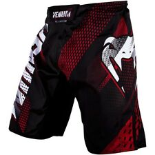 VENUM MMA Fight Shorts, Rapid, schwarz-rot, Hosen, Kickboxen, Short, Muay Thai