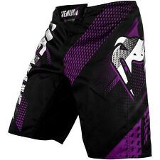 VENUM MMA Fight Shorts, Rapid, schwarz-violett, Hosen, Kickboxen Short Muay Thai