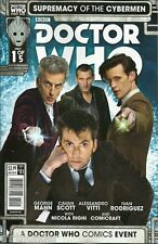 Doctor Who: Supremacy of The Cybermen Titan Comics variant covers Issue 1