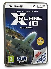 NEW & SEALED! X-Plane 10 Global 64-Bit Best Of with 3 Addons DLC PC DVD Game