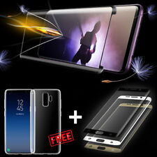 SAMSUNG GALAXY S9/S8/Plus Tempered Glass Full Curved Screen Cover+Clear TPU Case