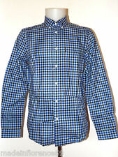 BEN SHERMAN CAMICIA HOUSE GINGHAM CHECK SHIRT MA11362 XS S M L XL XXL MOD FIT