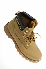 Caterpillar Herren Stiefel Stickshift -Braun/ Honey- Echtleder NEU! * ICM-1
