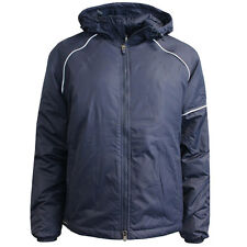 Nike Clima-Fit Lightweight Womens Padded Hooded Navy Jacket 261406 452 M4