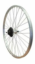 700c Hybrid Bike Wheel Bolted Rear Screw On Wheel Built with Shimano Freewheel