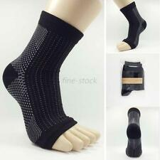 Foot Anti Fatigue Stretch Compression Ankle Swelling Relief Ankle Socks Sports