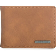 Rip Curl Pu Rockered Mens Wallet/purse Wallet - Tan One Size