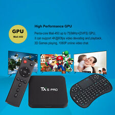 TX5 Pro 16GB 2GB Penta-Core Android KODI 16.1 Bluetooth  Fully Loaded TV Box Set