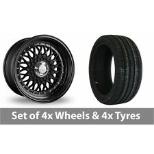 """4 x 17"""" Dare DR-RS Alloy Wheel Rims and Tyres -  225/45/17"""