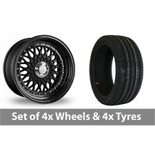"""4 x 17"""" Dare DR-RS Alloy Wheel Rims and Tyres -  215/45/17"""