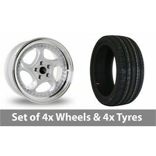 """4 x 18"""" Dare River R-6 Alloy Wheel Rims and Tyres -  225/40/18"""