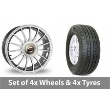 """4 x 17"""" Team Dynamics Monza R Alloy Wheel Rims and Tyres -  235/65/17"""