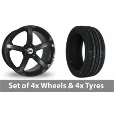 """4 x 18"""" Team Dynamics Jade R Smooth Alloy Wheel Rims and Tyres -  225/40/18"""