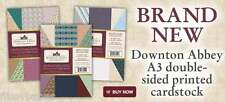 Crafters Companion Double Sided Centura Pearl A3 Card Packs Downton Abbey NEW