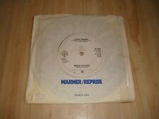 "ANGELIC UPSTARTS - TEENAGE WARNING ( WARNERS  7""  )"