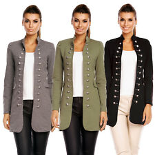 6062 DAMEN JACKE BLAZER ADMIRAL UNIFORM BLOGGER MILITARY KNÖPFE MANTEL S M  L XL 56db881a3d