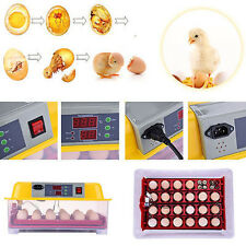24 Eggs Incubator chicken Hatcher with Automatic Egg turner Temperature Control