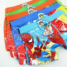 Children Kids Underwear panties Cotton cartoon Toddler Baby Boys underwear boxer