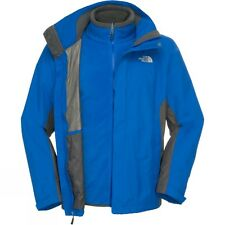 The North Face Men Evolution II Triclimate Jacket HYVENT BlueGrey All Sizes