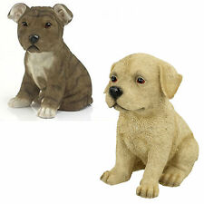 Lesser and Pavey Dog Ornaments Staffordshire Bull terrier or Golden Labrador