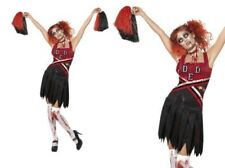 Donna Liceo Horror Costume Halloween + Pom Pom
