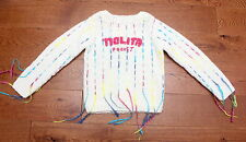 NOLITA POCKET BEAUTIFUL CREAM CHUNKY PATTERNED JUMPER AGE 10 YRS LOVELY COND