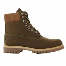 Timberland 6 Inch Premium Olive Mens Boots
