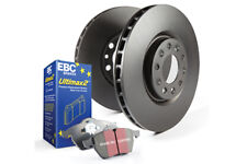 EBC Front & Rear Brake Kit Ultimax Pads + Discs for MERCEDES-BENZ (W116) 450 SEL