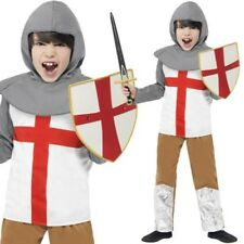 Ragazzi Cavaliere Medievale Costume St. George Bambini Outfit