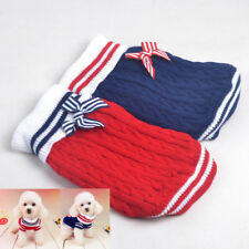 Pet Dog Winter Warm Clothes Coat Apparel Jumper Sweater Puppy Cat Hoodie Costume