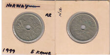 Norway - 5 kroner 1999 holed coin