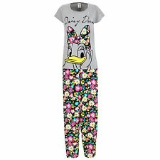 Daisy Duck Pyjamas | Womens Daisy Duck PJs | Disney Daisy Duck Pyjama Set | NEW